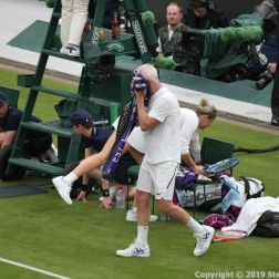 WIMBLEDON NO 1 COURT CELEBRATION, JOHN MCENROE 275