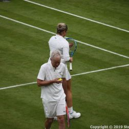WIMBLEDON NO 1 COURT CELEBRATION, JOHN MCENROE, KIM CLIJSTERS 251