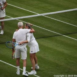 WIMBLEDON NO 1 COURT CELEBRATION, JOHN MCENROE, KIM CLIJSTERS 272