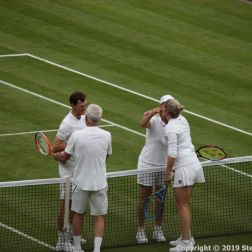 WIMBLEDON NO 1 COURT CELEBRATION, JOHN MCENROE, KIM CLIJSTERS, JAMIE MURRAY, MARTINA NAVRATILOVA 273