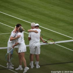 WIMBLEDON NO 1 COURT CELEBRATION, JOHN MCENROE, KIM CLIJSTERS, JAMIE MURRAY, MARTINA NAVRATILOVA 274