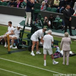 WIMBLEDON NO 1 COURT CELEBRATION, JOHN MCENROE, KIM CLIJSTERS, JAMIE MURRAY, MARTINA NAVRATILOVA 278