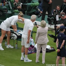 WIMBLEDON NO 1 COURT CELEBRATION, JOHN MCENROE, KIM CLIJSTERS, SUE BARKER 277