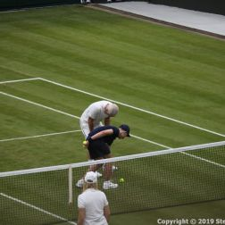 WIMBLEDON NO 1 COURT CELEBRATION, JOHN MCENROE, MARTINA NAVRATILOVA 229