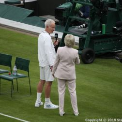 WIMBLEDON NO 1 COURT CELEBRATION, JOHN MCENROE, SUE BARKER 189
