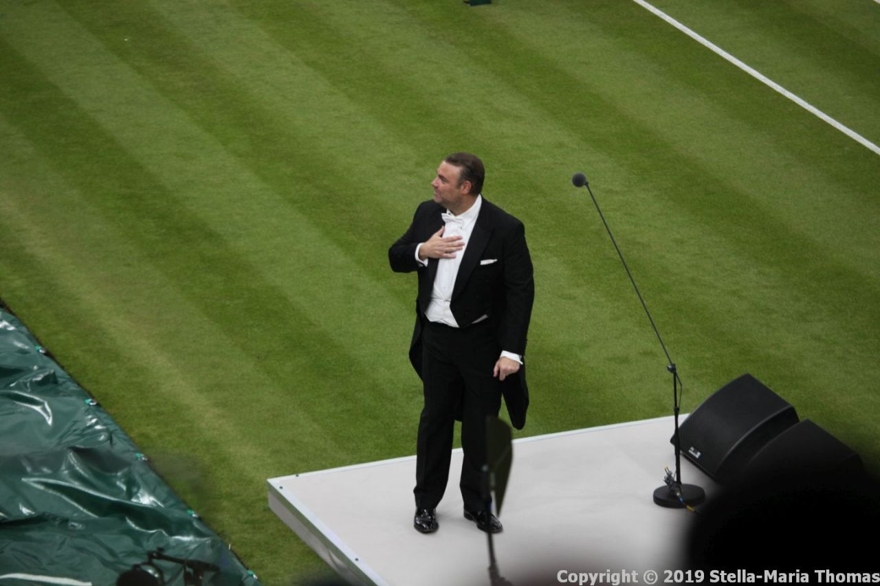 WIMBLEDON NO 1 COURT CELEBRATION, JOSEPH CALLEJA 005