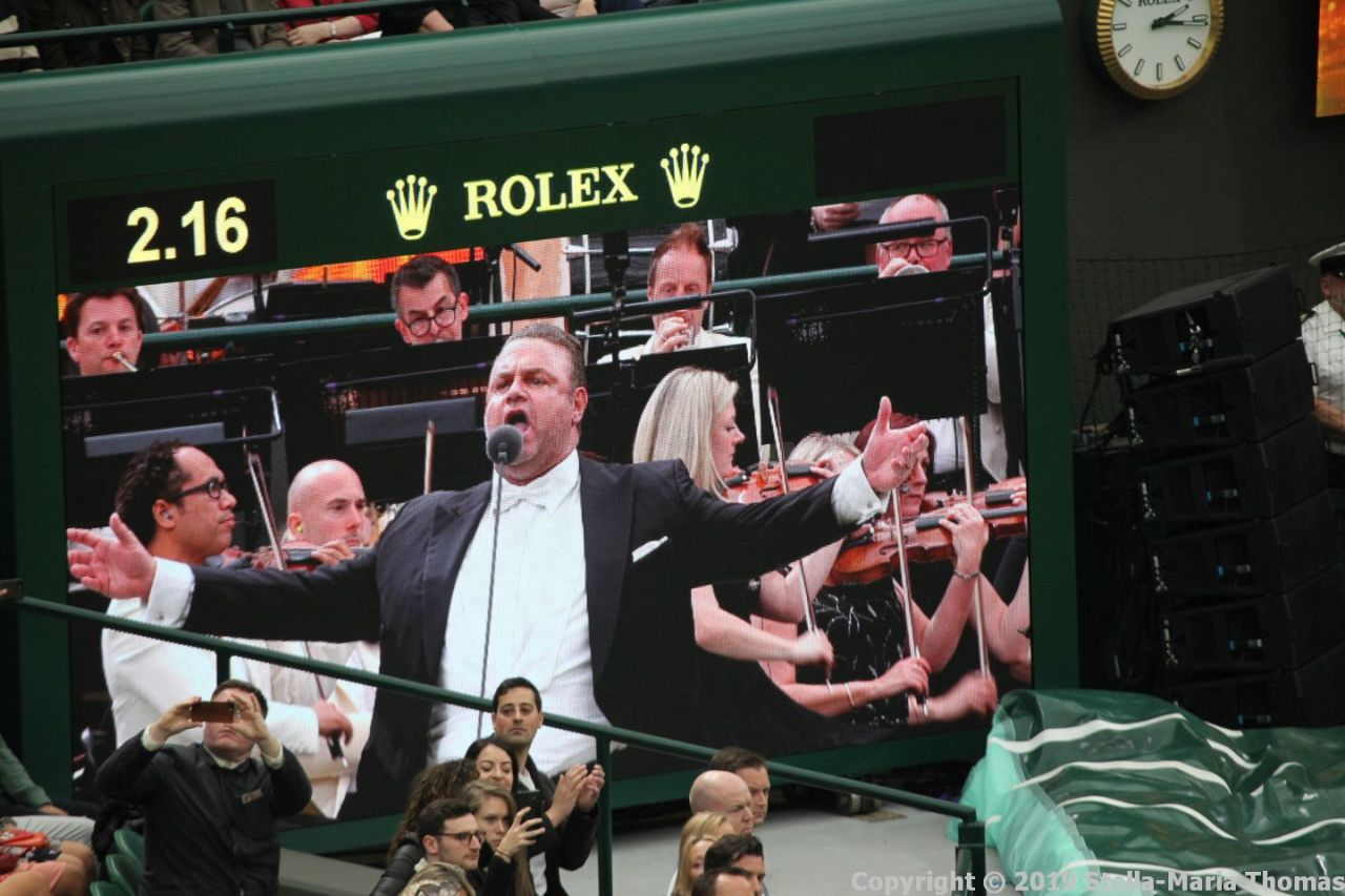 WIMBLEDON NO 1 COURT CELEBRATION, JOSEPH CALLEJA 011