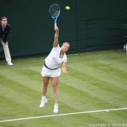 WIMBLEDON NO 1 COURT CELEBRATION, KIM CLIJSTERS 143