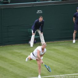 WIMBLEDON NO 1 COURT CELEBRATION, KIM CLIJSTERS 144