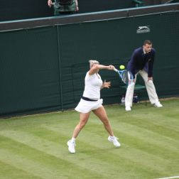 WIMBLEDON NO 1 COURT CELEBRATION, KIM CLIJSTERS 145