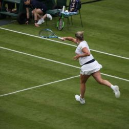 WIMBLEDON NO 1 COURT CELEBRATION, KIM CLIJSTERS 150
