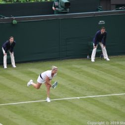 WIMBLEDON NO 1 COURT CELEBRATION, KIM CLIJSTERS 153