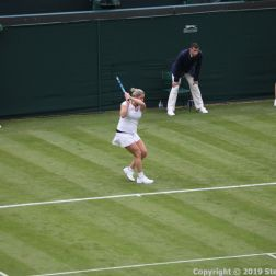 WIMBLEDON NO 1 COURT CELEBRATION, KIM CLIJSTERS 154