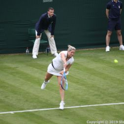 WIMBLEDON NO 1 COURT CELEBRATION, KIM CLIJSTERS 155