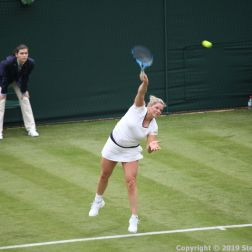 WIMBLEDON NO 1 COURT CELEBRATION, KIM CLIJSTERS 166