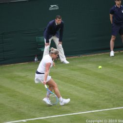 WIMBLEDON NO 1 COURT CELEBRATION, KIM CLIJSTERS 167