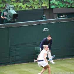 WIMBLEDON NO 1 COURT CELEBRATION, KIM CLIJSTERS 169