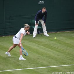 WIMBLEDON NO 1 COURT CELEBRATION, KIM CLIJSTERS 171