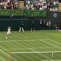 WIMBLEDON NO 1 COURT CELEBRATION, KIM CLIJSTERS 180