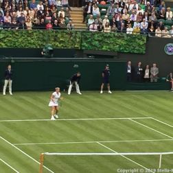 WIMBLEDON NO 1 COURT CELEBRATION, KIM CLIJSTERS 182