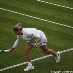 WIMBLEDON NO 1 COURT CELEBRATION, KIM CLIJSTERS 205