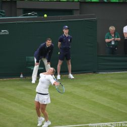 WIMBLEDON NO 1 COURT CELEBRATION, KIM CLIJSTERS 240