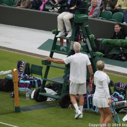 WIMBLEDON NO 1 COURT CELEBRATION, KIM CLIJSTERS, JOHN MCENROE 218