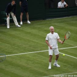 WIMBLEDON NO 1 COURT CELEBRATION, KIM CLIJSTERS, JOHN MCENROE 227
