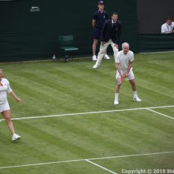 WIMBLEDON NO 1 COURT CELEBRATION, KIM CLIJSTERS, JOHN MCENROE 233