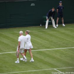 WIMBLEDON NO 1 COURT CELEBRATION, KIM CLIJSTERS, JOHN MCENROE 234