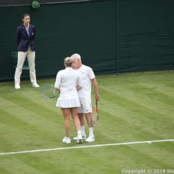 WIMBLEDON NO 1 COURT CELEBRATION, KIM CLIJSTERS, JOHN MCENROE 238