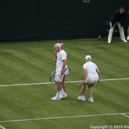 WIMBLEDON NO 1 COURT CELEBRATION, KIM CLIJSTERS, JOHN MCENROE, MARTINA NAVRATILOVA 235
