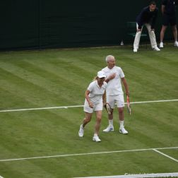 WIMBLEDON NO 1 COURT CELEBRATION, KIM CLIJSTERS, JOHN MCENROE, MARTINA NAVRATILOVA 236