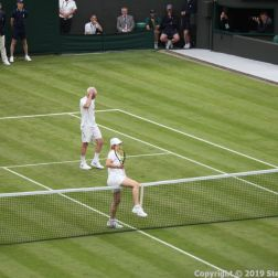 WIMBLEDON NO 1 COURT CELEBRATION, KIM CLIJSTERS, JOHN MCENROE, MARTINA NAVRATILOVA 237
