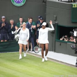 WIMBLEDON NO 1 COURT CELEBRATION, KIM CLIJSTERS, VENUS WILLIAMS 136