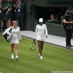 WIMBLEDON NO 1 COURT CELEBRATION, KIM CLIJSTERS, VENUS WILLIAMS 138