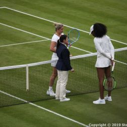 WIMBLEDON NO 1 COURT CELEBRATION, KIM CLIJSTERS, VENUS WILLIAMS 139