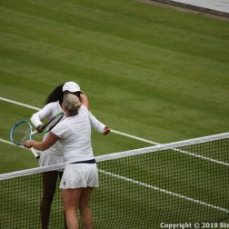 WIMBLEDON NO 1 COURT CELEBRATION, KIM CLIJSTERS, VENUS WILLIAMS 185