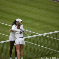 WIMBLEDON NO 1 COURT CELEBRATION, KIM CLIJSTERS, VENUS WILLIAMS 186