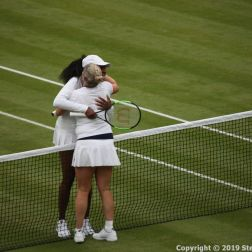 WIMBLEDON NO 1 COURT CELEBRATION, KIM CLIJSTERS, VENUS WILLIAMS 187