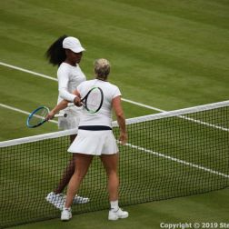 WIMBLEDON NO 1 COURT CELEBRATION, KIM CLIJSTERS, VENUS WILLIAMS 188