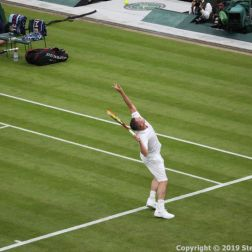 WIMBLEDON NO 1 COURT CELEBRATION, LLEYTON HEWITT 049
