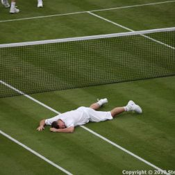 WIMBLEDON NO 1 COURT CELEBRATION, LLEYTON HEWITT 116