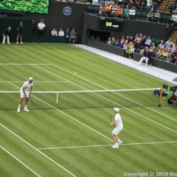 WIMBLEDON NO 1 COURT CELEBRATION, LLEYTON HEWITT, GORAN IVANISEVIC, JAMIE MURRAY 096