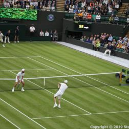 WIMBLEDON NO 1 COURT CELEBRATION, LLEYTON HEWITT, GORAN IVANISEVIC, JAMIE MURRAY 097