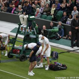 WIMBLEDON NO 1 COURT CELEBRATION, LLEYTON HEWITT, GORAN IVANISEVIC, JAMIE MURRAY 115
