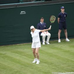 WIMBLEDON NO 1 COURT CELEBRATION, MARTINA NAVRATILOVA 201
