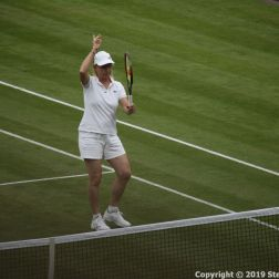 WIMBLEDON NO 1 COURT CELEBRATION, MARTINA NAVRATILOVA 207