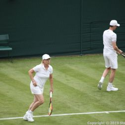 WIMBLEDON NO 1 COURT CELEBRATION, MARTINA NAVRATILOVA 209