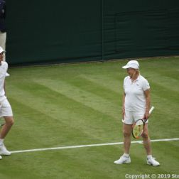 WIMBLEDON NO 1 COURT CELEBRATION, MARTINA NAVRATILOVA 210